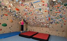 Amazing home climbing gym! Damn, I look at mine and feel inferior