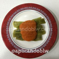 Judías verdes con salsa de tomate Baby Led Weaning, Avocado Toast, Breakfast, Food, Tomato Sauce, Dips, Green Beans, Healthy Recipes, Morning Coffee