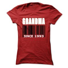 Grandma since ④ 1993If you dont like this Tshirt, please use the Search Bar on the top right corner to find the best one for you. Simply type the keyword and hit Enter!Grandma since 1993