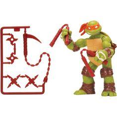 Teenage Mutant Ninja Turtles Michelangelo Action Figure, Multicolor