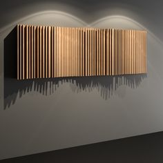 Acoustic Ceiling Panels, Hall Interior, Interior Ideas, Diy Wall, Wall Decor, Wall Panel Design, Ceiling Design Living Room, Wood Panel Walls, Wood Ceilings