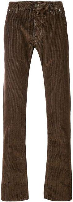 Jacob Cohen corduroy straight leg trousers