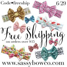 Free domestic shipping on all orders over $15. Today only use code FREESHIP at checkout {promo can not be applied to previous orders or combine with any other promo or discount}