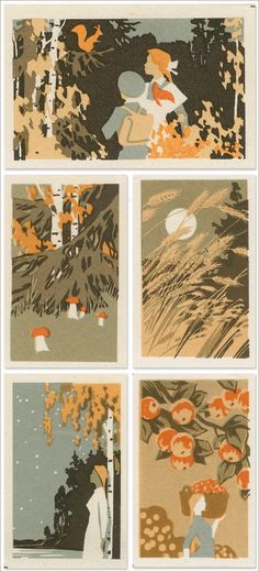 Today I Love: Jane McDevitt's Vintage Matchbox Labels | Creature Comforts