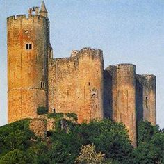 Chateau Fortress in Najac ~ Aveyron                                                                                                                                                                                 More