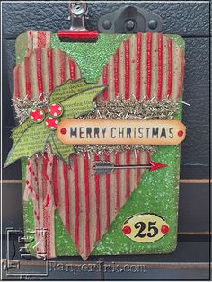 Merry Christmas Home Decor by Wendy Vecchi | www.rangerink.com