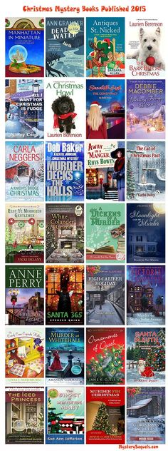 Christmas mystery books published i 2015