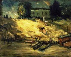Sudden Shower 1902, Robert Henri  Realism