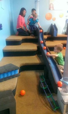 The layout of the Denver Children's Museum is unique: it's organized into playspaces that focus on the ages and interests of the child.