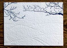 """""""Branches"""" Limited Edition Letterpress Art Print"""