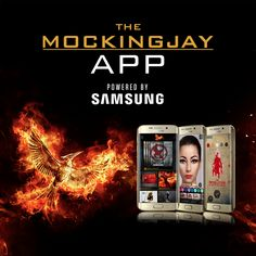 Download the all-new 'Mockingjay App' now to experience brand new exclusive features! Become the Face of the Revolution with Capitol Camouflage, show your support for Katniss with AR virtual graffiti, and explore the hovercraft used by the Revolution! Powered by Samsung (@SamsungMobileUSA) - TheHungerGames.movie/App