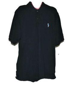 MARGARITAVILLE Polo Knit Shirt Size XXL Mens Parrot Logo Navy Blue Golf Top #margaritaville #golf #poloshirt #jimmybuffet