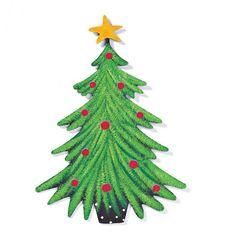 Embellish Your Story Christmas Tree Magnet - NuMercy.com