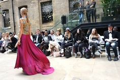 Dorin Negrau, Oxford Fashion Studios, London Fashion Week SS16