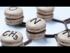 MOLECULAR MACARONS - NERDY NUMMIES - YouTube