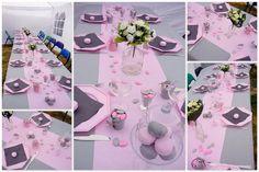 idee decoration de table pour communion fille 3