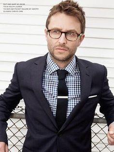 Chris Hardwick in glasses