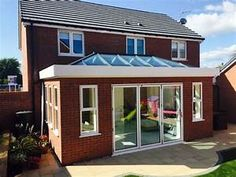 ECO+ Roof Lantern on Flat Roof Home Extension ...