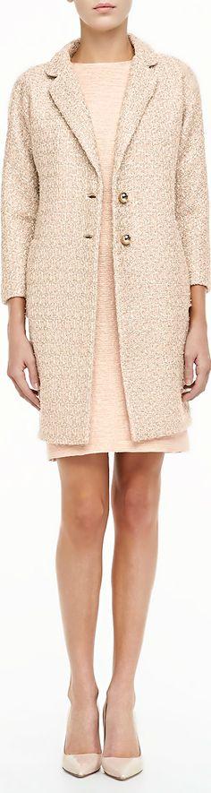 kate spade  ●  Tweed coat & sheath dress
