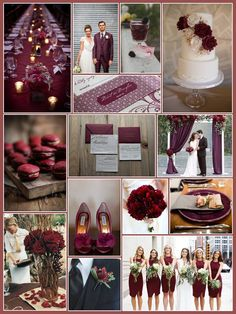 An English Rose, Luxury Lifestyle Weddings - Pantone Color of the Year 2015 Marsala