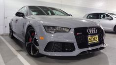 2016 #Audi #RS7 lookin' good in #NardoGray. Thoughts?