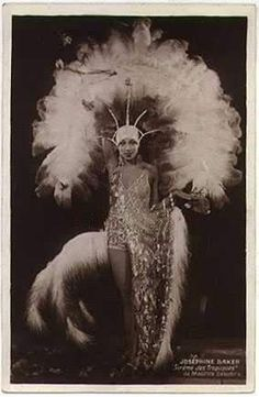 Josephine Baker was the first lady of fierce in her day.