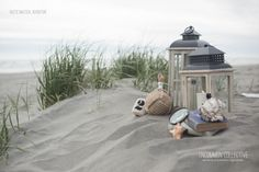 Rustic Nautical Adventure #lanterns #beach #picnic