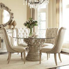 Elegant dining room. designer furniture, exclussive furniture, high end…