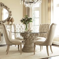 Elegant dining room. designer furniture, exclussive furniture, high end furniture, contemporary interior design