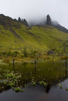 EUROPA - Old Man of Storr, Isle of Skye, Hebrides Islands, Scotland