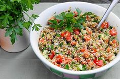 The Kitchen is My Playground: Tabouli {a 'girly' Superbowl option!}