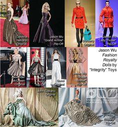 Jason Wu Fashion Royalty Dolls by Integrity Toys