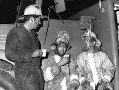 """LAFD (c. 1971)  Los Angeles, CA. // """"Rehab after SAR assignment at Sylmar Tunnel explosion"""""""