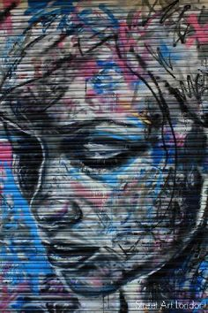 David Walker. You CAN'T tell me this isn't art, I don't care if it's on a storefront gate.