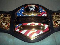 2003 WWE JAKKS Pacifica Foam Toy Belt US Championship World Wrestling Enter. $29.99