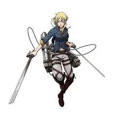 Annie Mikasa, Armin, Attack On Titan Ships, Attack On Titan Anime, Anime Demon, Manga Anime, Attack On Titan English, Snk Annie, Annie Leonhardt