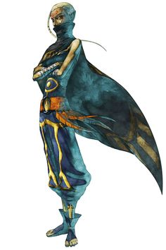 Mysterious Sheikah - The Legend of Zelda: Skyward Sword