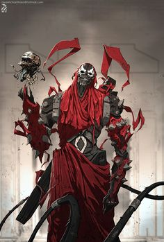 Spawn fanart., Nivanh Chanthara on ArtStation at https://www.artstation.com/artwork/PNdVy?utm_campaign=digest&utm_medium=email&utm_source=email_digest_mailer