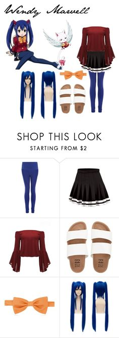 """""""Wendy Marvell Fairy Tail"""" by fangirl-name ❤ liked on Polyvore featuring NIKE, Billabong and Forzieri"""