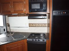I could not abide the existing border or the valance.  Why do rv manufacturers persist with borders?