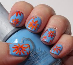 Marias Nail Art and Polish Blog: Flowers in my snowcone