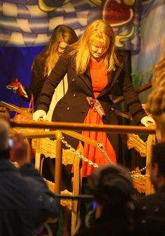 Fergie at Winter Wonderland.