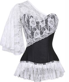 The Violet Vixen - Laced Cloud Black Corset, 149.97 CAD (http://thevioletvixen.com/authentic-corsets/laced-cloud-black-corset/)