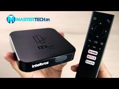 TV BOX Intelbras IZY Play - o Android TV (MI BOX) da Intelbras - YouTube Android Box, Youtube, Play, Apple Tv, Wifi, Smart House, February, Ants, Youtubers