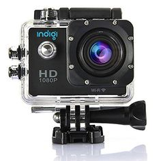 Introducing #Indigi ActionCam HD Cube Black, with everything you need for your for outdoor sports and activities, Extreme Sports , Bicycle, Skydiving, Surfing, S...