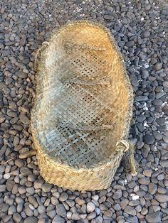 Wahakura - baby basket... 1st one I have made... By Delwyn McManus, NZ
