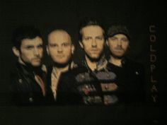 there was a time I crossstitchd many a picture - this is coldplay