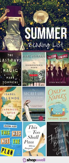 It's never too early to start compiling your summer reading list. Find out which books we're planning to read over summer vacation.
