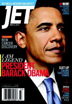 PRESIDENT Obama, Jet Magazine