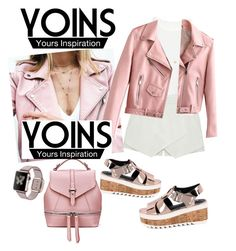 """""""yoins contest"""" by andjelb ❤ liked on Polyvore featuring Eloqueen, Minor Obsessions and yoins"""